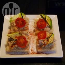 Recette canapés au thon et à l'avocat – toutes les recettes allrecipes