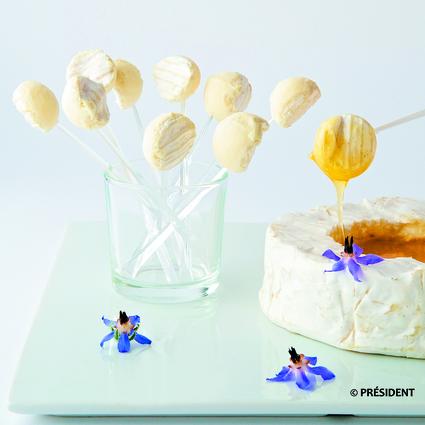 Recette de bonbons de camembert au miel
