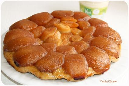 Recette tarte tatin traditionnelle (tarte dessert)