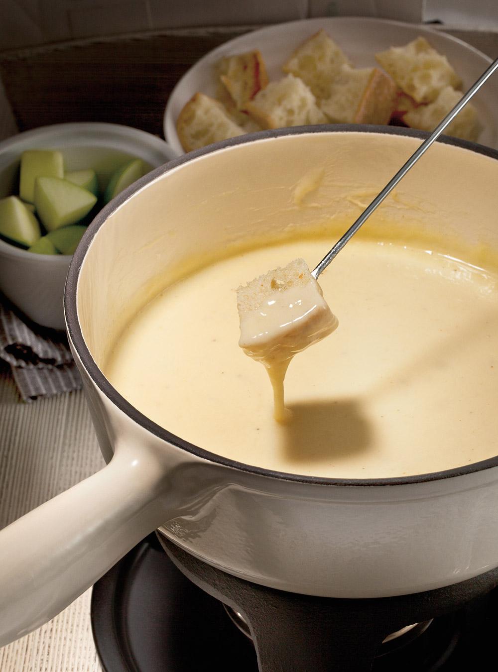 Fondue au fromage suisse (la meilleure) | ricardo