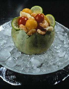 Melon fraîcheur pour 6 personnes