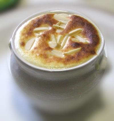 Recette de soupe gratinée de framboises à la fleur d'oranger