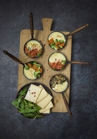 Recette de raclette en trois versions