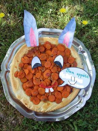 Recette de tarte tatin aux carottes