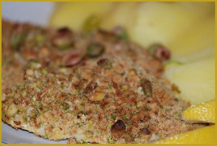 Recette de filets de cabillaud panés aux pistaches