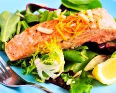 Recette papillotes de saumon au gingembre