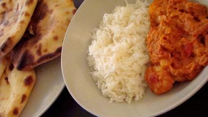 Recette de crevettes au curry madras