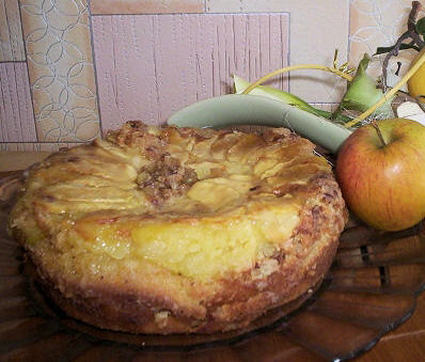 Recette de délice aux pommes