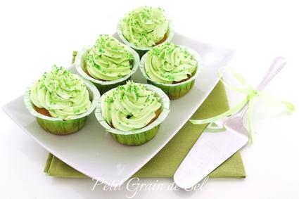 Recette de cupcakes à la pomme verte
