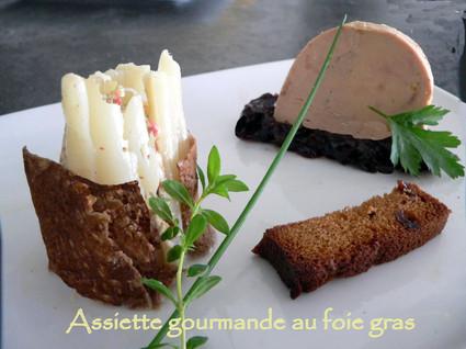 Recette de foie gras gourmand