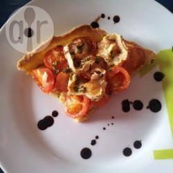 Recette tarte aux petites tomates cerises et au chèvre – toutes les ...
