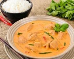 Recette curry thai au poulet