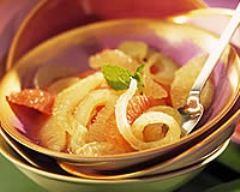 Recette salade d'orange et de céleri aux oignons