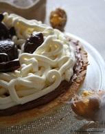 Recette de tarte choco-mascarpone de pâques, bio, sans oeufs ...