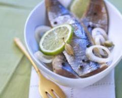 Recette harengs marinés aux épices et citron vert