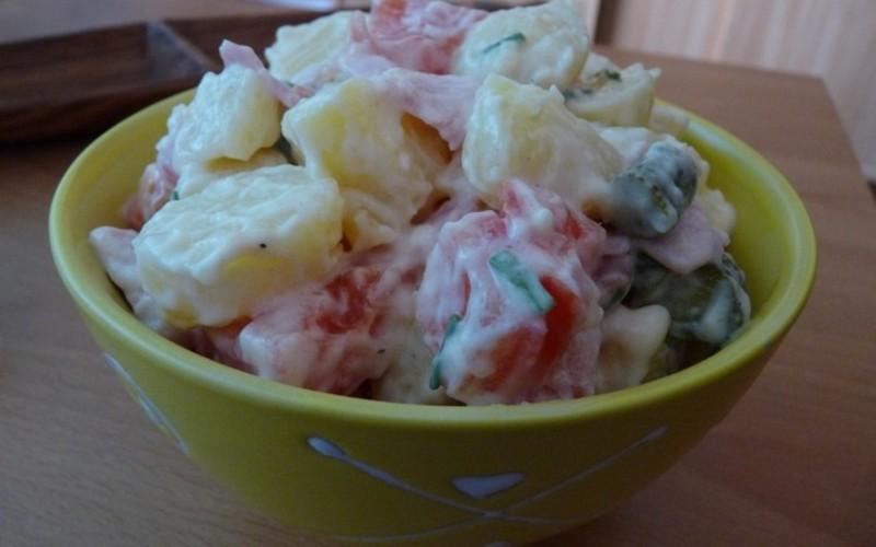 Recette salade piémontaise allégée hyper simple économique ...