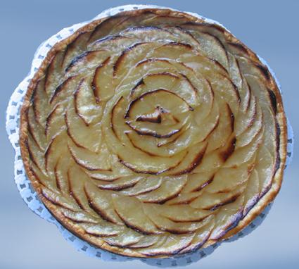 Recette de tarte feuilletée aux pommes et aux épices