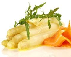 Recette tartines d'asperges au saumon fumé