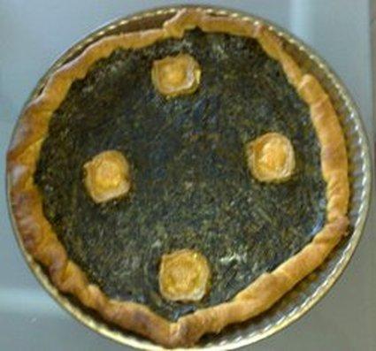 Recette de tarte aux épinards à la béchamel et chèvre