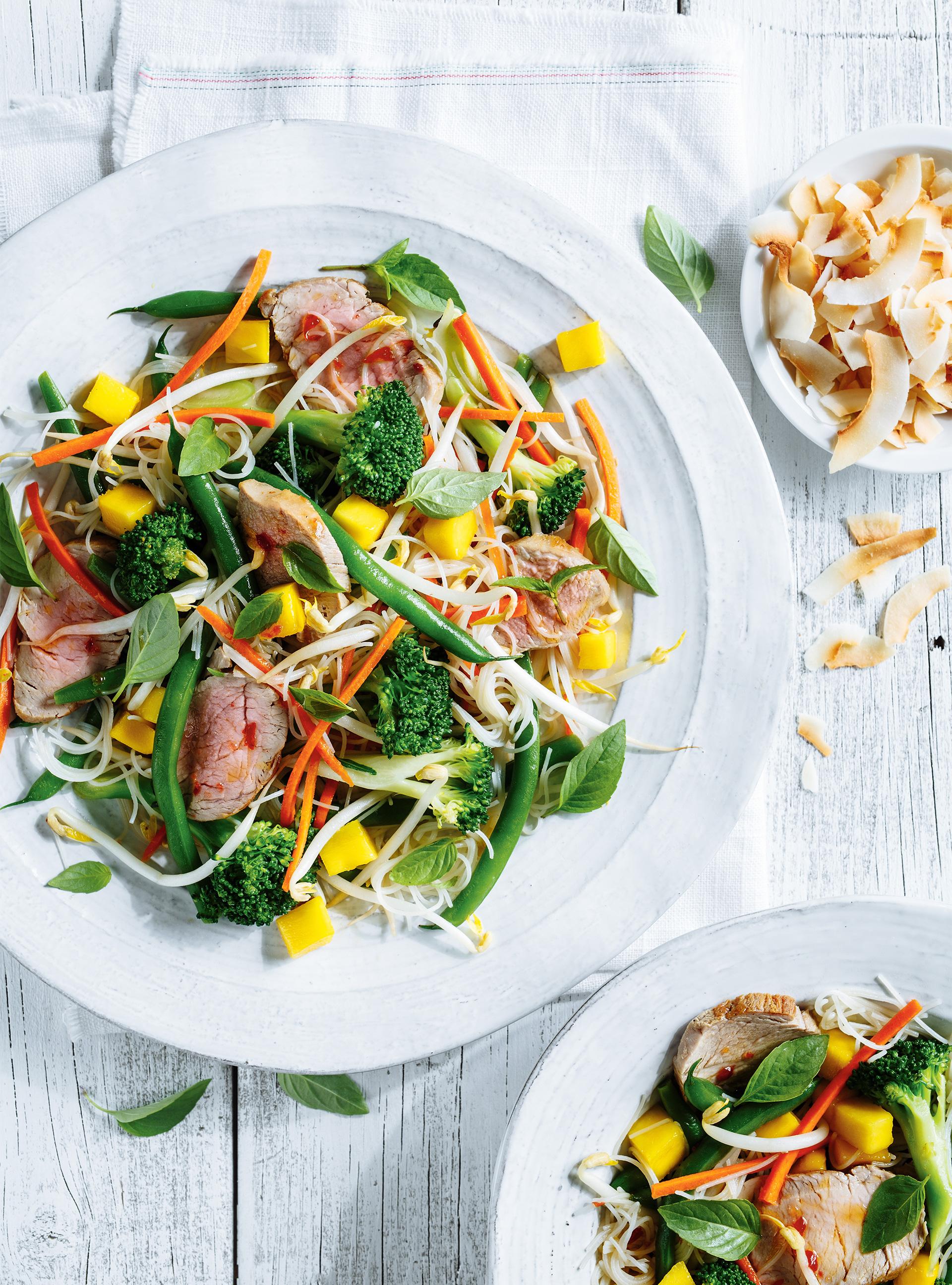 Salade de filet de porc thaï | ricardo