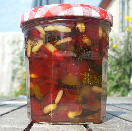 Recette de confiture courgettes et poivrons