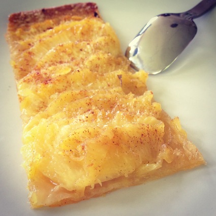 Recette de tarte fine à l'ananas