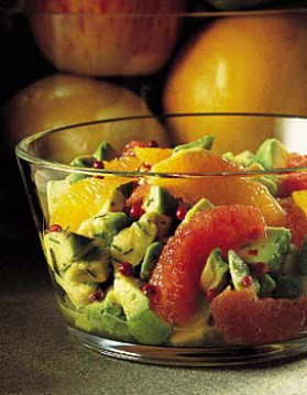 Salade d'avocats aux agrumes pour 4 personnes