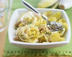 Recette salade d'endives aux noix
