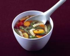 Recette soupe de légumes et spaghettis