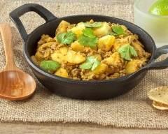 Recette curry de boeuf aux pommes de terre nouvelles
