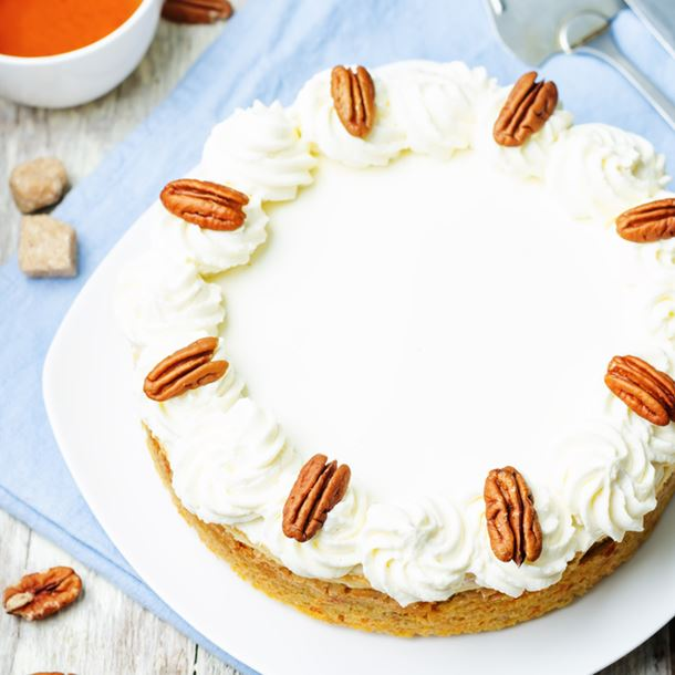 Recette carrot cheesecake