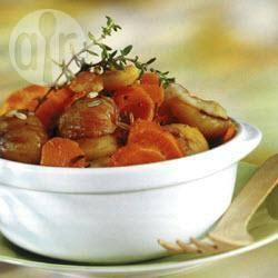Recette châtaignes aux carottes – toutes les recettes allrecipes
