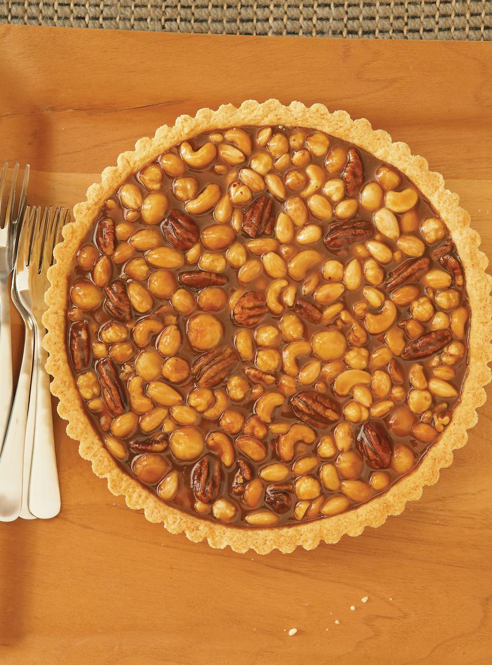 Tarte aux noix et au caramel | ricardo