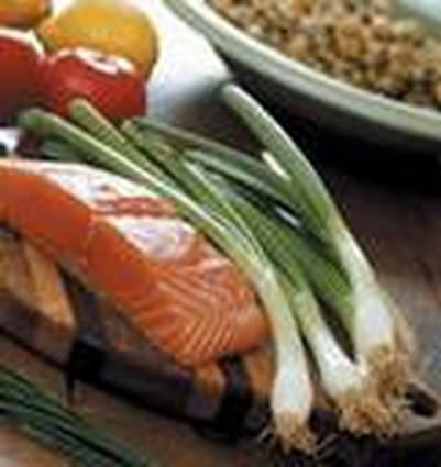 Recette de pavés de saumon aux poireaux en papillote