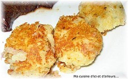 Recette de pâtés de pommes de terre à la coriandre