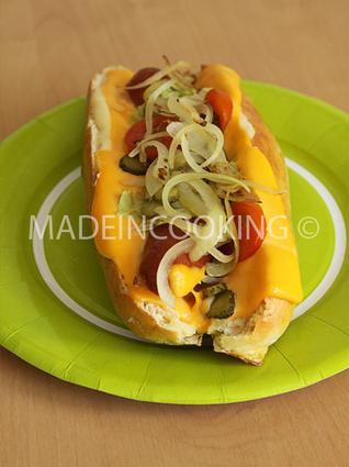 Recette de hot dog usa à ma façon