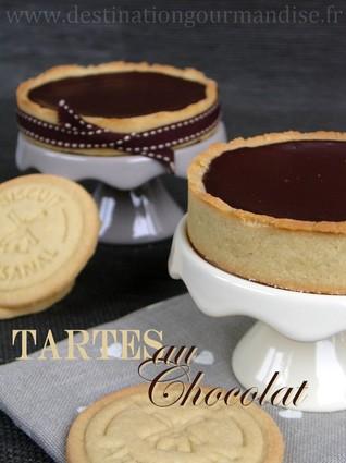 Recette tartelettes au chocolat pour 6 personnes