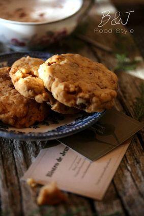 Recette de cookies aux crêpes dentelles