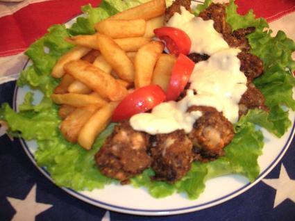 Recette ailerons de poulet frits maison