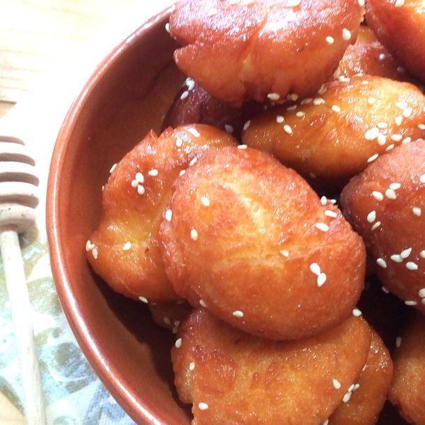 Recette beignets express aux zeste d'orange et graines de sésames ...