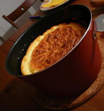 Soufflé au fromage