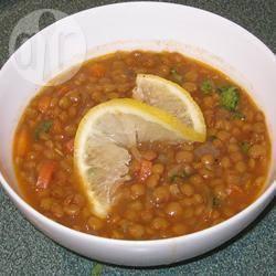 Recette soupe au poulet avec des lentilles – toutes les recettes ...