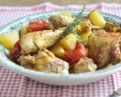 Recette poulet à la provençale en papillote