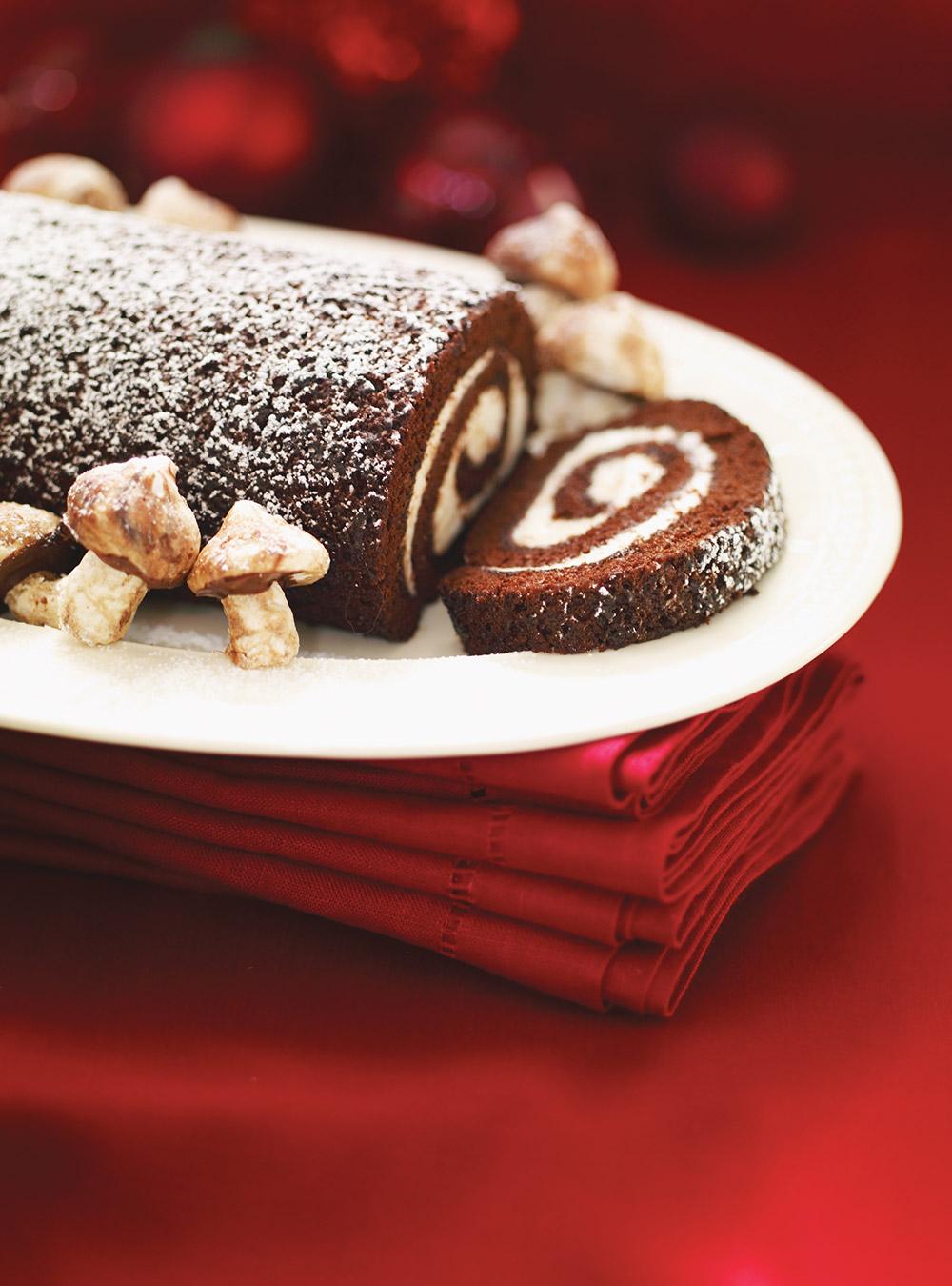 Bûche au chocolat et au mascarpone | ricardo