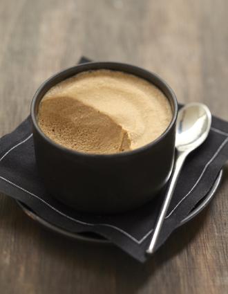 Recette de mousse chocolat-café