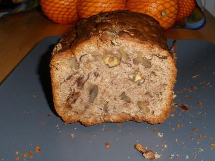 Recette de cake aux pruneaux et aux noix