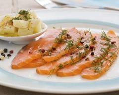 Recette saumon gravlax (saumon frais mariné à l'aneth)