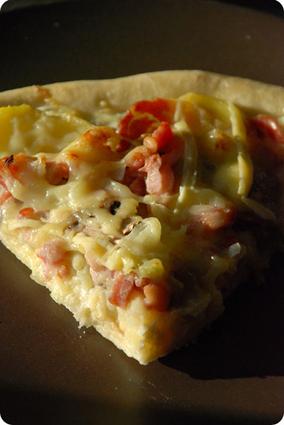 Recette de pizza façon savoyarde