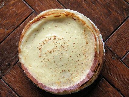 Recette de pâte à crêpes nature