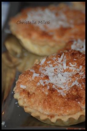 Recette de tartelette à la noix de coco